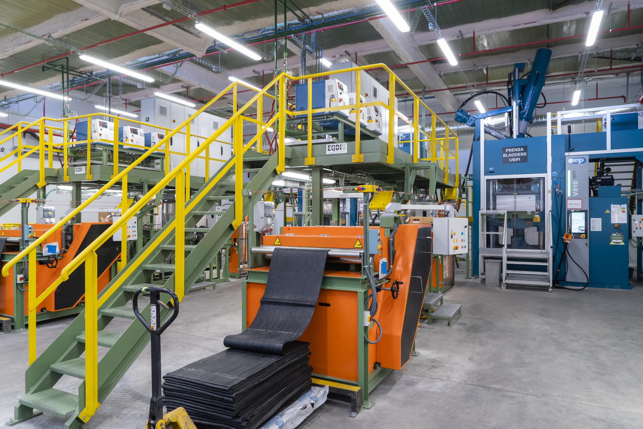 La fabricación de bladders por inyección diversifica el negocio